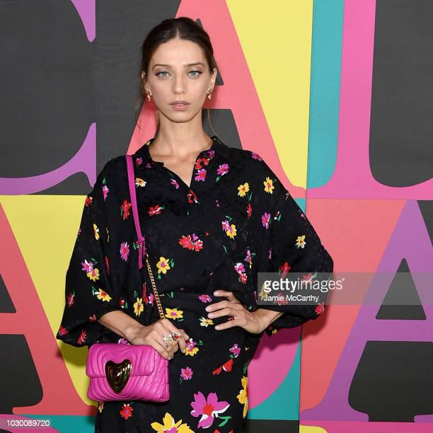 Angela Sarafyan attends the ESCADA SS19 show at the Park Avenue Armory on September 9 2018 in New York City