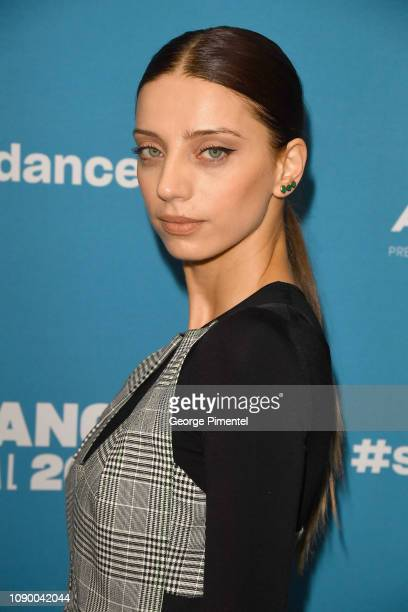 Angela Sarafyan attends the 'Extremely Wicked Shockingly Evil And Vile' Premiere during the 2019 Sundance Film Festival at Eccles Center Theatre on...
