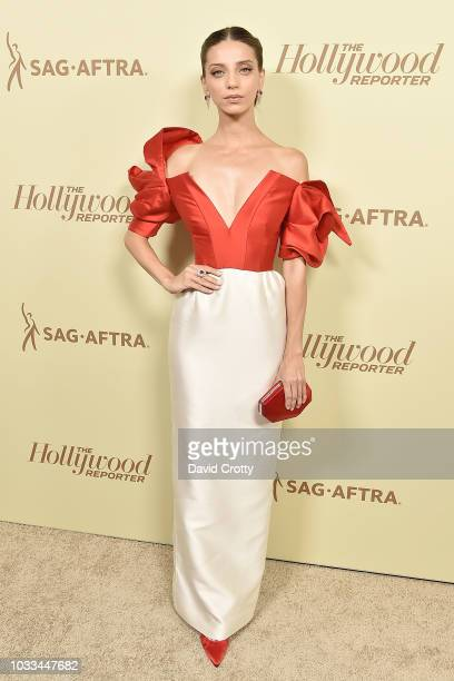 Angela Sarafyan attends The Hollywood Reporter And SAGAFTRA Celebrate Emmy Award Contenders At Annual Nominees Night at Avra Beverly Hills Estiatorio...