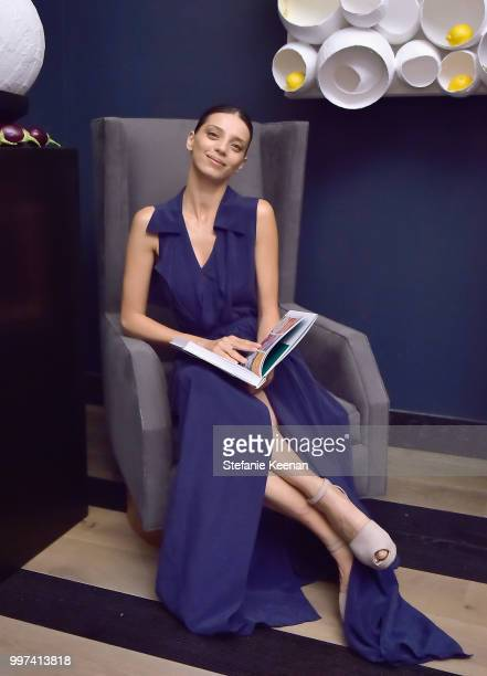 Angela Sarafyan attends the launch of Farmacy Kitchen Cookbook hosted by Vegan/Plantbased Author Camilla Fayed Elizabeth Saltzman and Jamie Mizrahi...