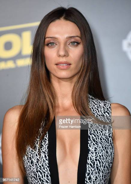 Angela Sarafyan attends the premiere of Disney Pictures and Lucasfilm's 'Solo A Star Wars Story' at the El Capitan Theatre on May 10 2018 in Los...
