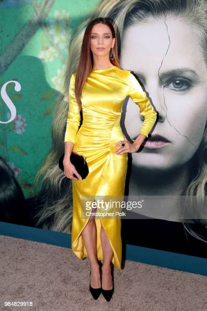 Angela Sarafyan attends the premiere of HBO's 'Sharp Objects' at The Cinerama Dome on June 26 2018 in Los Angeles California