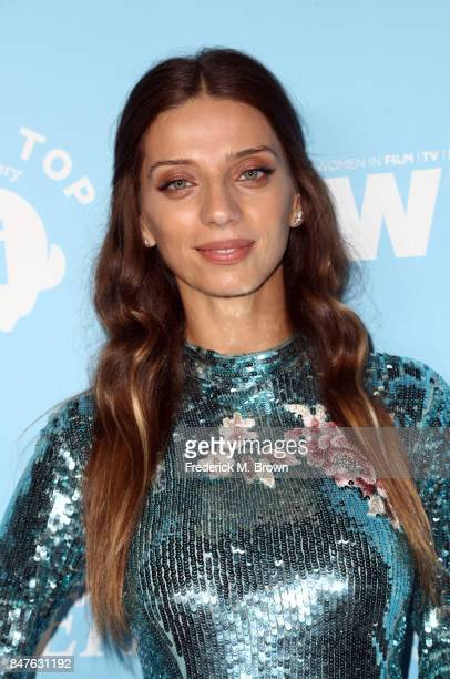 Angela Sarafyan attends the Variety and Women In Film's 2017 PreEmmy Celebration at Gracias Madre on September 15 2017 in West Hollywood California