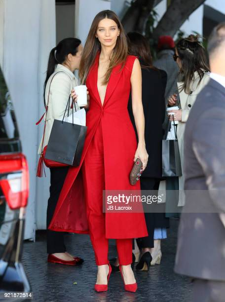 Angela Sarafyan is seen on February 20 2018 in Los Angeles California