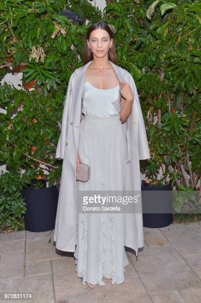 Angela Sarafyan wearing Max Mara attends the Max Mara Celebration for Alexandra Shipp 2018 Women In Film Max Mara Face Of The Future Award Recipient...