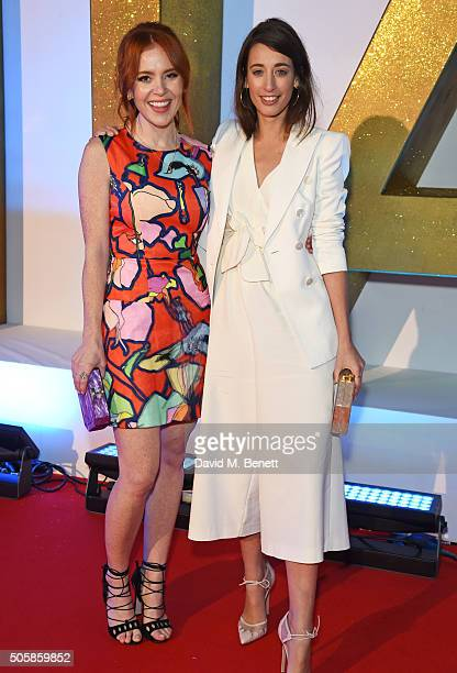 Angela Scanlon and Laura Jackson attend the 21st National Television Awards at The O2 Arena on January 20 2016 in London England