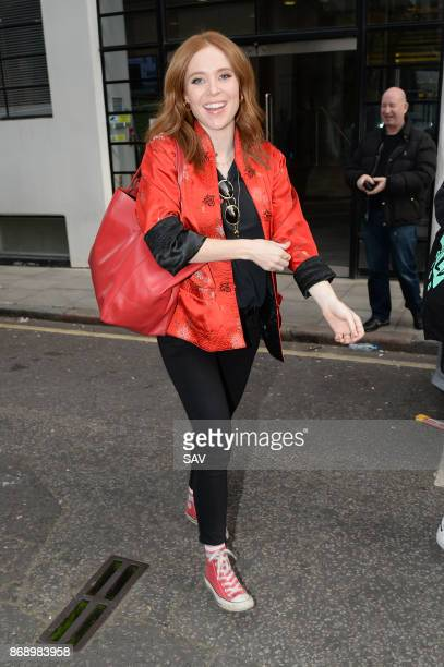 Angela Scanlon at The AOL Building for the Build Series on November 1 2017 in London England