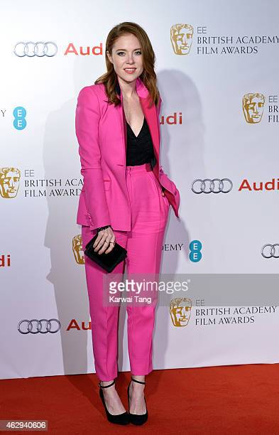 Angela Scanlon attends the EE British Academy Awards nominees party at Kensington Palace on February 7 2015 in London England