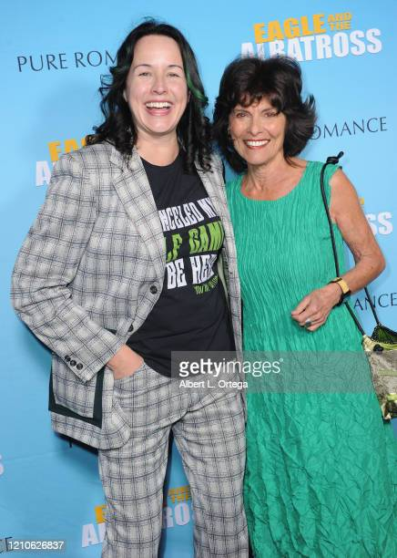Angela Shelton and Adrienne Barbeau attend the Premiere Of Eagle And The Albatross held at Charlie Chaplin Theatre on February 29 2020 in Los Angeles...