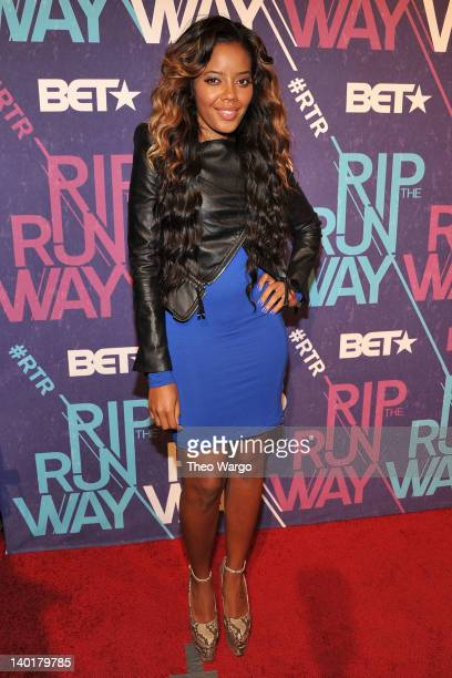 Angela Simmons attends BET's Rip The Runway 2012 at Hammerstein Ballroom on February 29, 2012 in New York City.