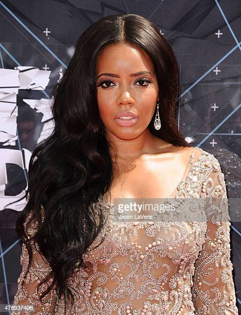 Angela Simmons attends the 2015 BET Awards at the Microsoft Theater on June 28 2015 in Los Angeles California
