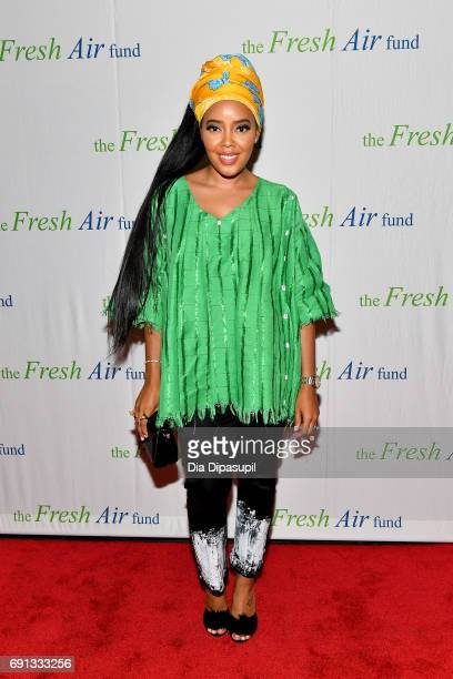 Angela Simmons attends the 2017 Fresh Air Fund Spring Benefit at Pier Sixty at Chelsea Piers on June 1 2017 in New York City