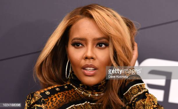 Angela Simmons attends the Black Girls Rock 2018 Red Carpet at NJPAC on August 26 2018 in Newark New Jersey