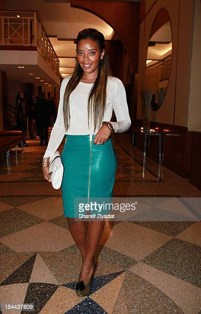 Angela Simmons attends the BRAG 42nd Annual Scholarship and Awards Gala at Pier 60 on October 19 2012 in New York City
