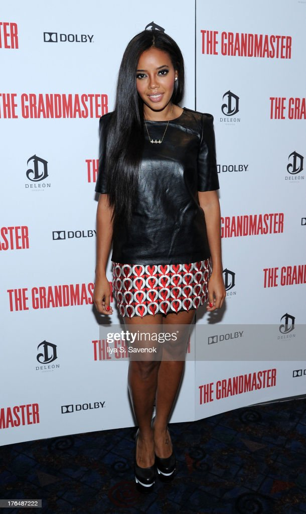 Angela Simmons attends 'The Grandmaster' New York Screening at Regal E-Walk Stadium 13 on August 13, 2013 in New York City.