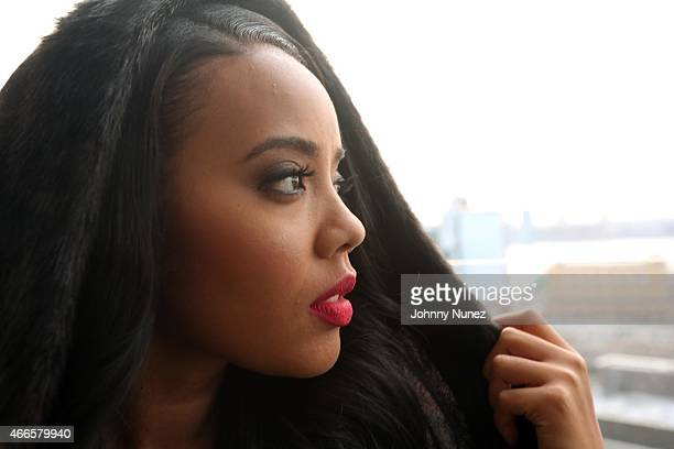Angela Simmons attends the launch of Foofi By Angela Simmons at Gansevoort Hotel on March 16 in New York City