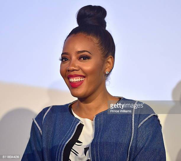 Angela Simmons attends #TheRecipe at Do At The View on February 22 2016 in Atlanta Georgia