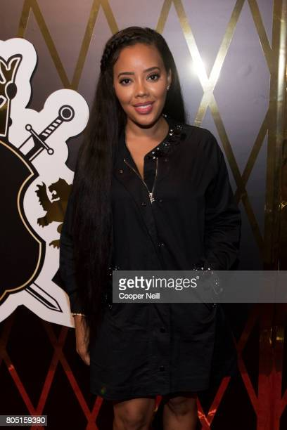 Angela Simmons poses for a photo at Bishop TD Jakes' surprise 60th birthday celebration at The Joule Hotel on June 30 2017 in Dallas Texas