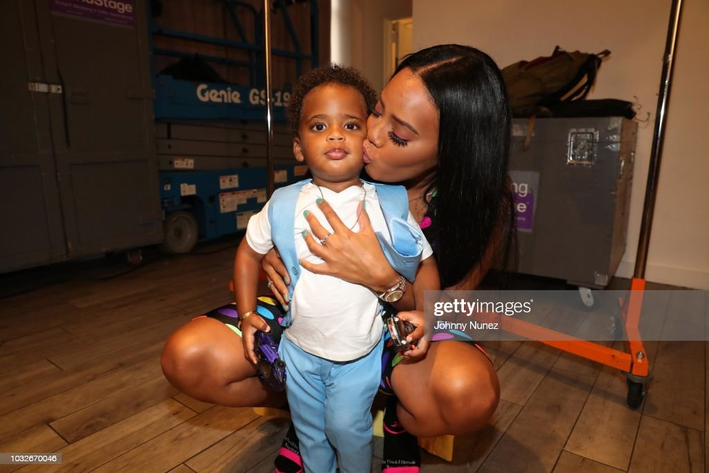 Bonnie Bouche By Angela Simmons - Style360 - New York Fashion Week : News Photo