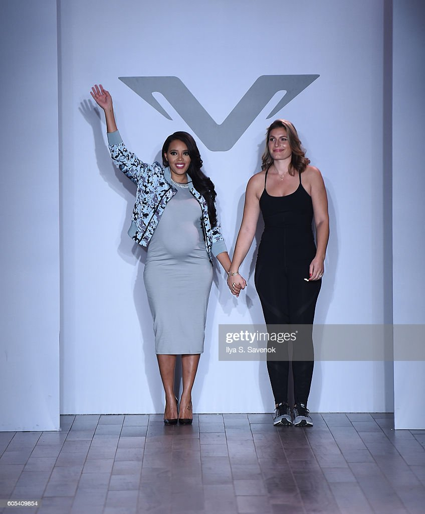 NY: Vipe Activewear Collection With Angela Simmons - Runway - September 2016 Style360