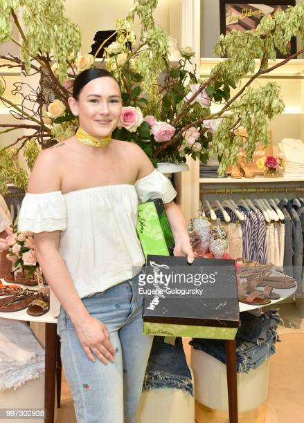Angela Smarker attends the Modern Luxury Sam Edelman Summer Fashion Event on July 12 2018 in Southampton New York
