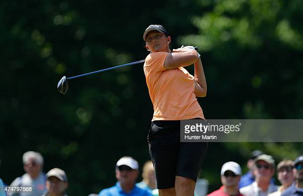 Angela Stanford during the third round of the Kingsmill Championship presented by JTBC on the River Course at Kingsmill Resort on May 16 2015 in...