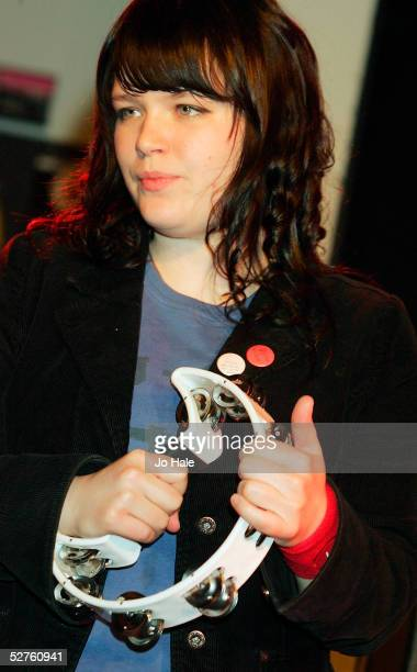 Angela Stodart of Magic Numbers performs on stage at 'The MOJO Honours List Launch Party' the launch event for MOJO's second annual awards at HMV...