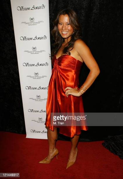 Angela Sun during The 34th Annual Vision Awards at Beverly Hilton in Beverly Hills California United States