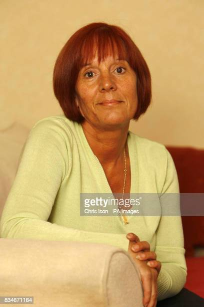 Angela Syder whose late husband Glenn was knocked off his bicycle and killed as he rode to work in Fareham Hampshire in November 2007