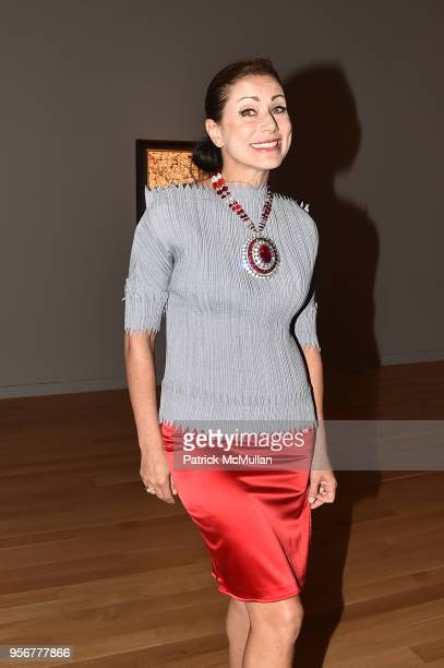 Angela Tassoni attends Alzheimer's Drug Discovery Foundation 12th Annual Connoisseur's Dinner at Sotheby's on May 3 2018 in New York City Angela...