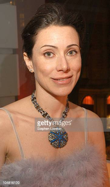 Angela Tassoni during A Party for the Opening of The Charles Worthington Salon at The Charles Worthington Salon in New York City New York United...