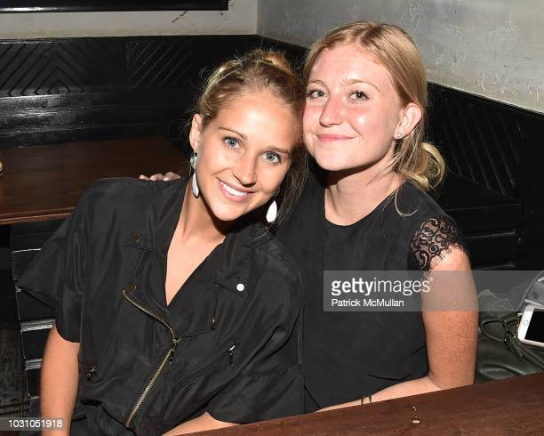 Angela Waddle and Marina Lazar attend the Nicole Miller Spring 2019 After Party at Acme on September 6 2018 in New York City