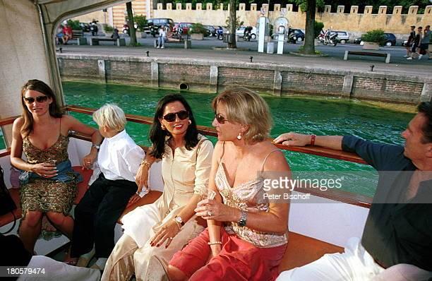 Angela Wepper Enkel Kilian Tochter SophieMargarita Garda/Gardasee/Italien 60Geburtstagsparty von Fritz Wepper Fest Party Fete Sekt Wein Schampus...