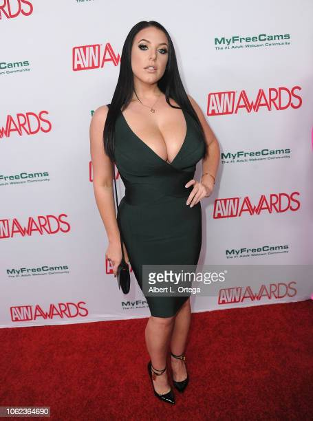 Angela White arrives for the 2019 AVN Awards Nominations Party held at Avalon on November 15 2018 in Hollywood California