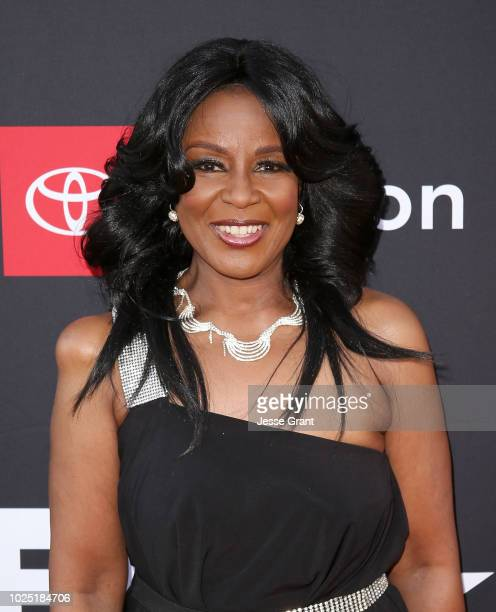 Angela Winbush attends the premiere screening of 'The Bobby Brown Story' presented by BET and Toyota at the Paramount Theatre on August 29 2018 in...