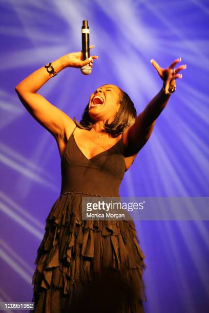Angela Winbush during Tom Joyner Sky Show June 22 2007 at Detroit Opera House in Detroit Michigan United States