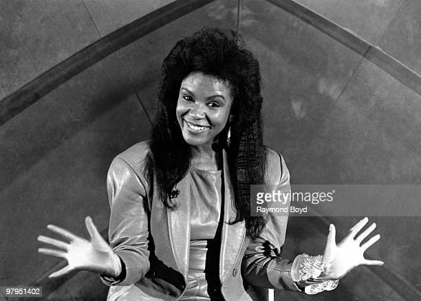 Angela Winbush of the RB duo 'Rene Angela' poses for a portait session on February 8 1989
