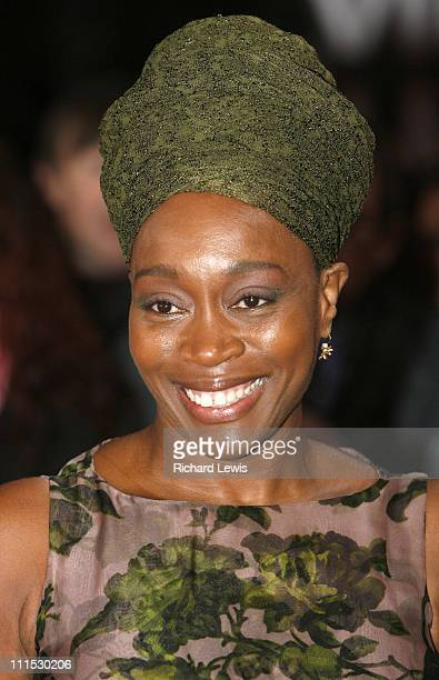 Angela Winter during 12th Anniversary National Television Awards Arrivals at Royal Albert Hall in London Great Britain