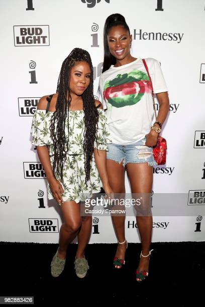 Angela Yee and Jennifer Williams attend IGA X BET Awards Party 2018 on June 24 2018 in Los Angeles California