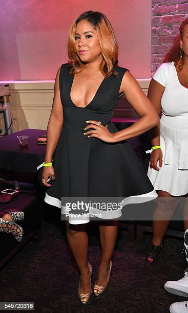 Angela Yee attending the Essence Festival at Ernest N Morial Convention Center on July 2 2016 in New Orleans Louisiana