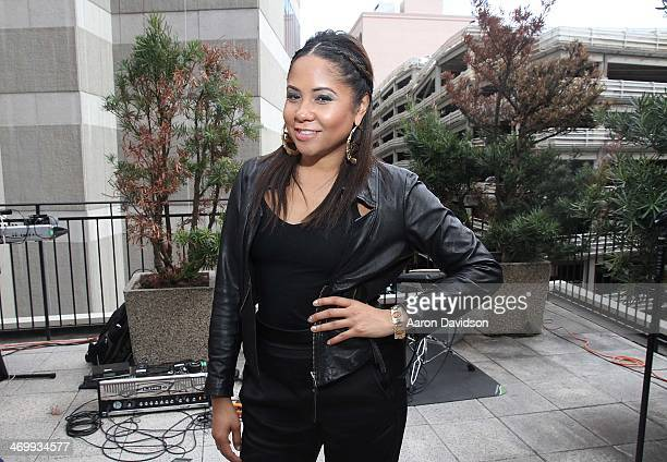 Angela Yee attends A Live Episodic Introduction Of Darnaa Hosted By Angela Yee at Le Foret New Orleans on February 16 2014 in New Orleans Louisiana