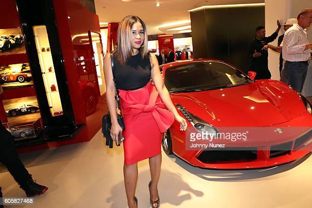 Angela Yee attends DJ Envy's Birthday Celebration at Ferrari Corporate Showroom on September 14 2016 in New York City