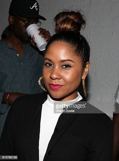 Angela Yee attends Jeezy 'Trap Or Die 3' Album Listening Session at Open House Gallery on October 19 2016 in New York City