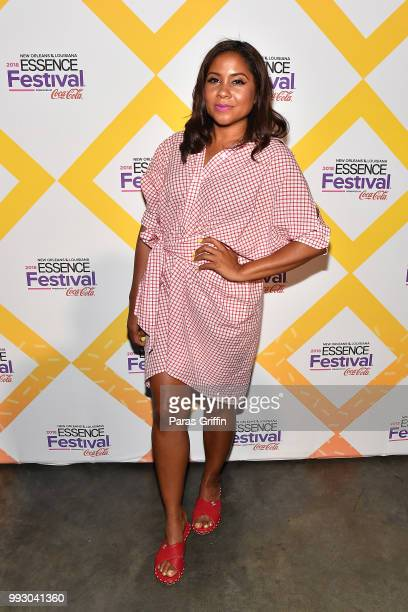 Angela Yee attends the 2018 Essence Festival presented by CocaCola at Ernest N Morial Convention Center on July 6 2018 in New Orleans Louisiana