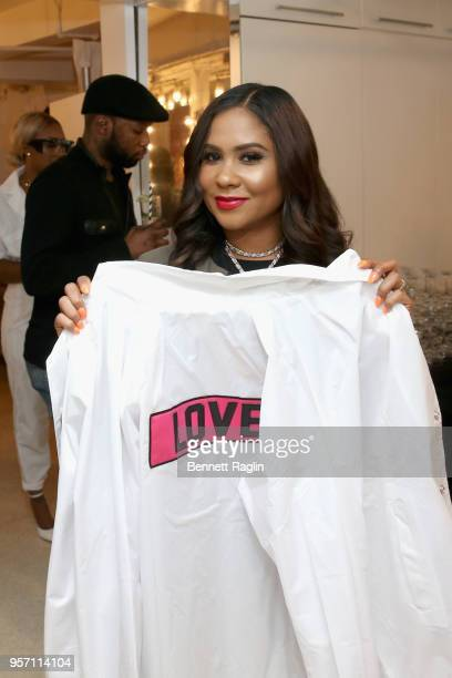 Angela Yee attends the Essence MADE 2018 Upfronts at EZ Studios on May 10 2018 in New York City
