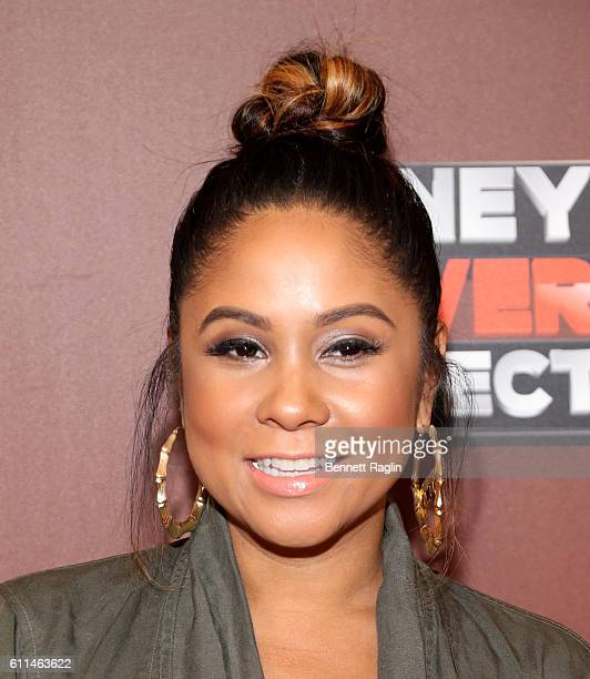 Angela Yee attends WE tv's Growing Up Hip Hop Season 2 Premiere Screening And After Party on September 29 2016 in New York City
