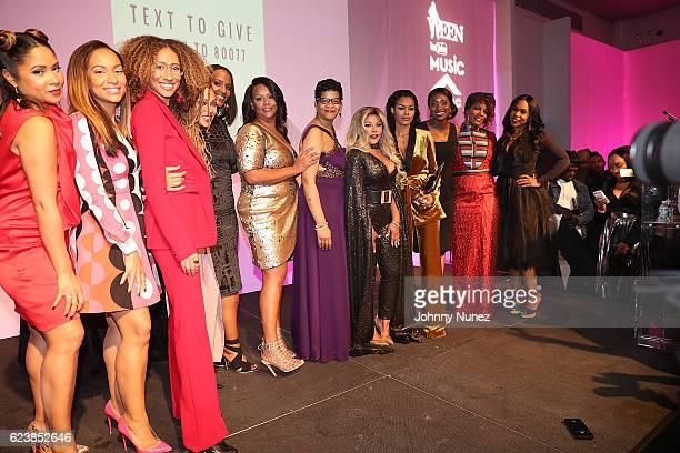 Angela Yee Valeisha Butterfield Elaine Welteroth Meagan Good Ethiopia Habtemariam Kris Geneva ReedVeal Lil Kim Teyana Taylor Lola Ogunnaike Sabrina...
