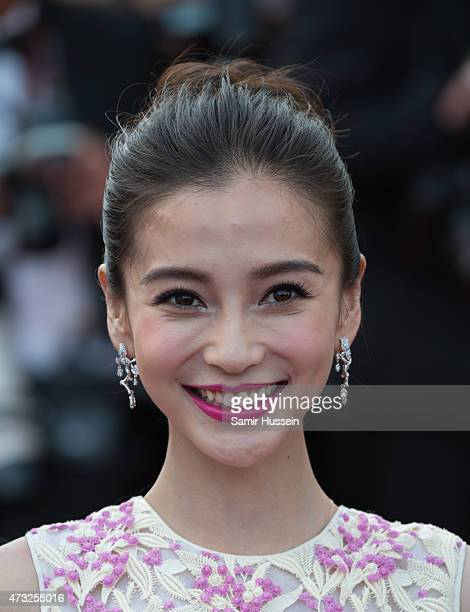 Angelababy attends the opening ceremony and premiere of 'La Tete Haute during the 68th annual Cannes Film Festival on May 13 2015 in Cannes France