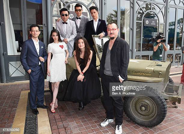 Angelababy Huang Bo Xia Yu Shu Qi Chen Kun and Wuershan attend a photocall and Press Conference for 'The Ghouls' during the 68th annual Cannes Film...