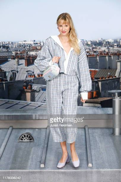 Angele attends the Chanel Womenswear Spring/Summer 2020 show as part of Paris Fashion Week on October 01 2019 in Paris France